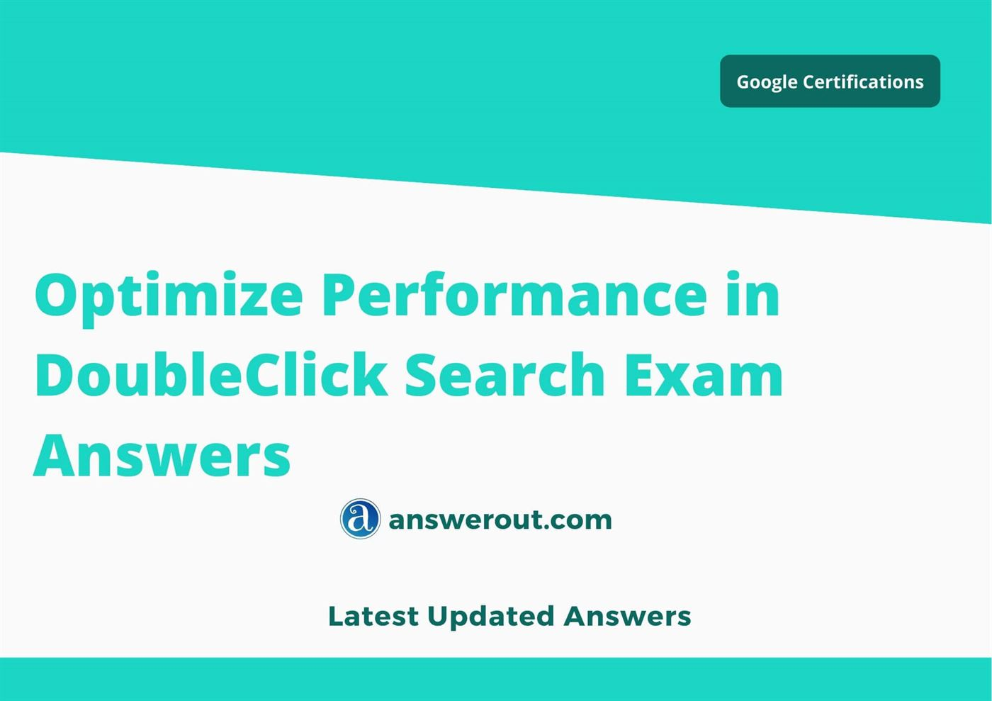 Optimize Performance in DoubleClick Search Answers 2021