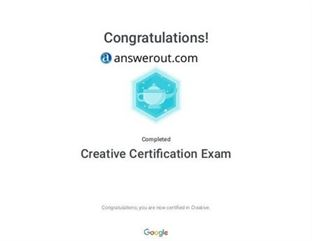 Creative Certification Exam Answers 2020 All Updated Answers